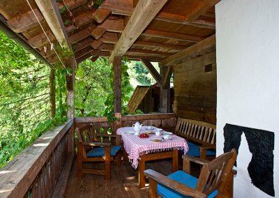 Igelbau - Ferienwohnung Oberer Schwärzenbachhof